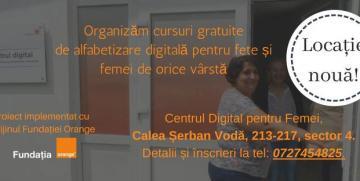 Cursuri gratuite alfabetizare digitala
